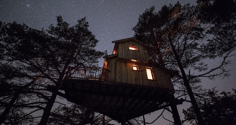 tre topp hytte